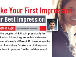 MAKE YOUR FIRST IMPRESSION YOUR BEST IMPRESSION