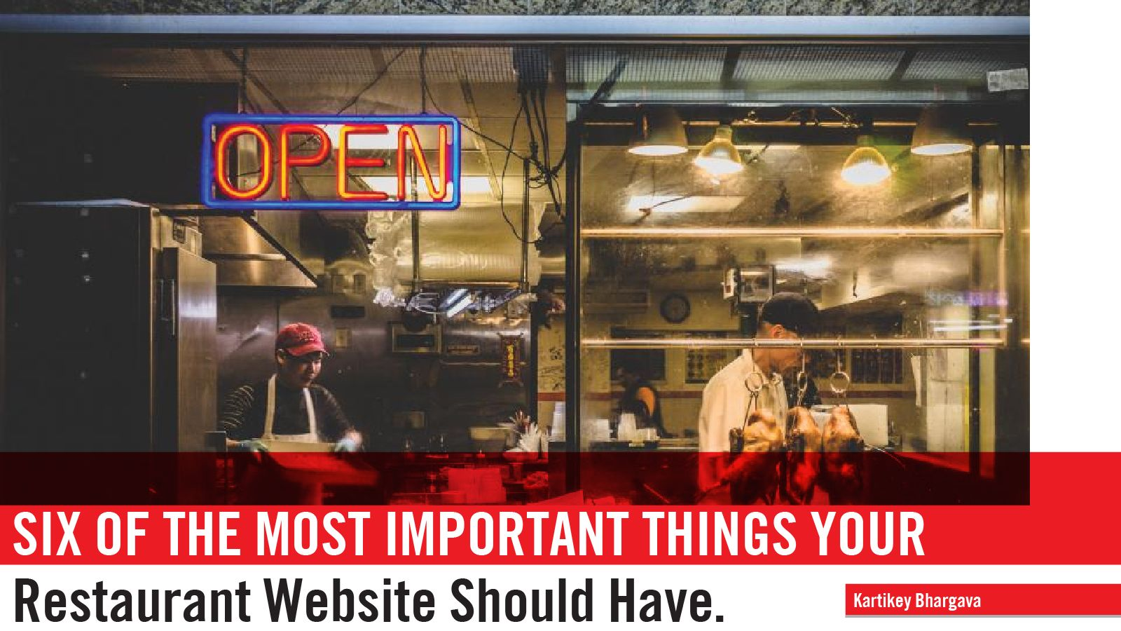 6 MOST IMPORTANT THINGS YOUR RESTAURANT WEBSITE SHOULD HAVE