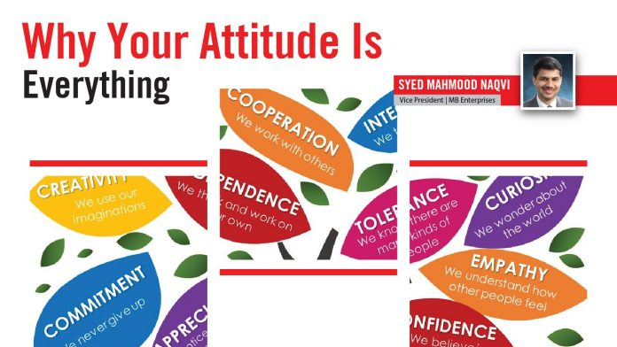 WHY YOUR ATTITUDE IS EVERYTHING