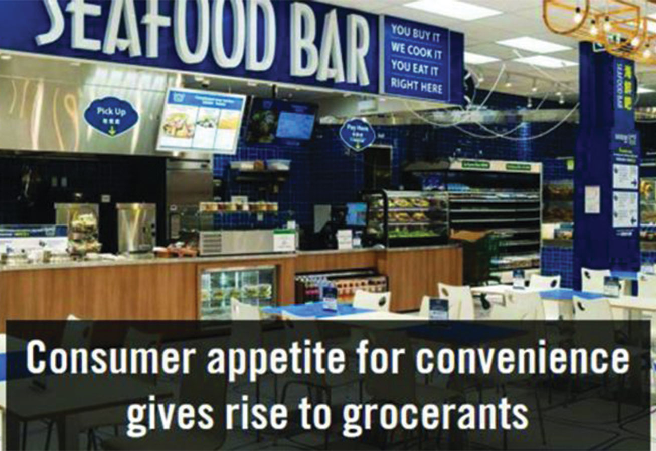 CONSUMER APPETITE GIVES RISE TO GROCERANTS