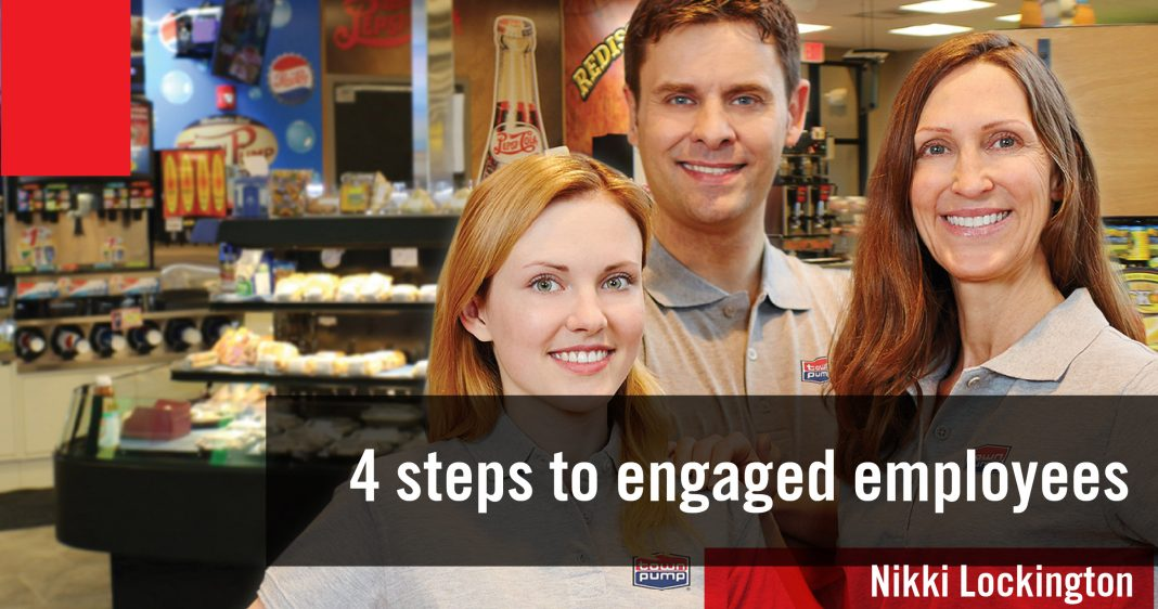 4 STEPS TO ENGAGED EMPLOYEES