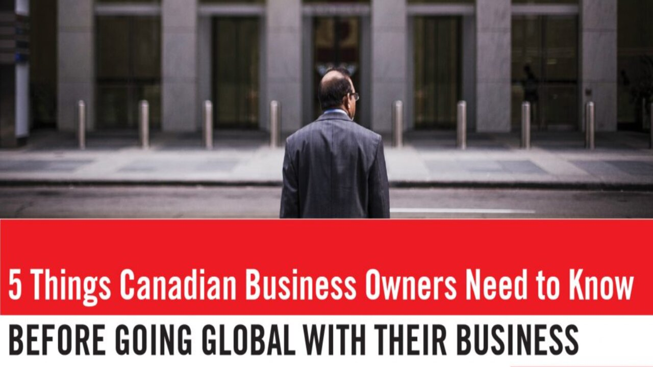 5 BUSINESS THINGS NEEDED BY CANADIAN BUSINESS OWNERS