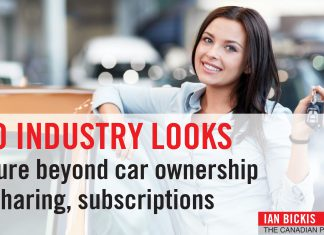 AUTO INDUSTRY LOOKS TO FUTURE – CAR OWNERSHIP WITH SHARING