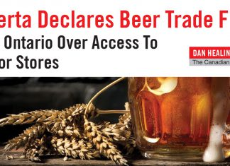ALBERTA DECLARES BEER TRADE FIGHT WITH ONTARIO LIQUOR STORES