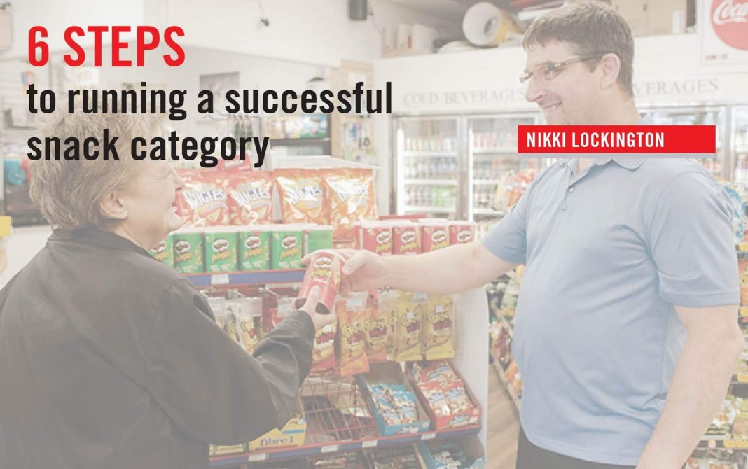 6 STEPS TO RUNNING A SUCCESSFUL SNACK CATEGORY