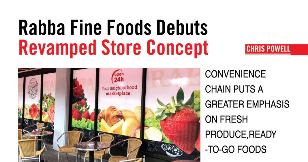 RABBA FINE FOODS: A REVAMPED GROCERY STORE CONCEPT