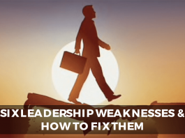 leadership weaknesses