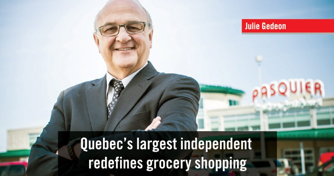 QUEBEC'S LARGEST INDEPENDENT REDEFINES GROCERY SHOPPING