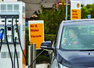 ELECTRIC CAR QUEBEC CHARGING STATION WITH GOVT. BACK-UP