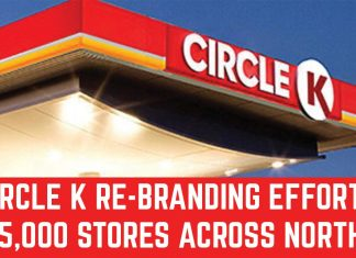 CIRCLE K RE-BRANDING EFFORTS, 5,000 STORES ACROSS NORTH