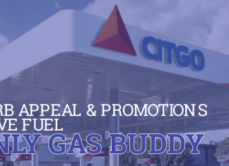 CURB APPEAL AND PROMOTIONS DRIVE FUEL-ONLY GAS BUDDY