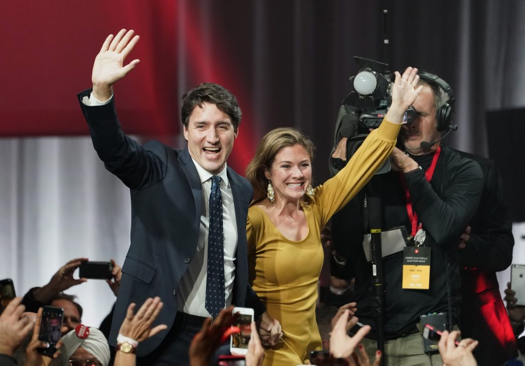 "A win for Trudeau's Liberal Party. A ""Just"" Winner Of A Close ELection"