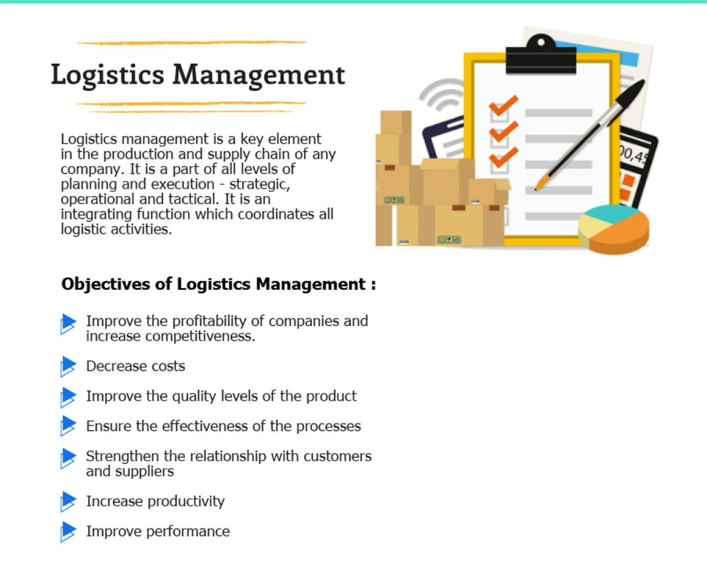 logistics management - customer service