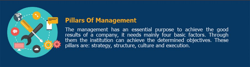 pillars of management - client service