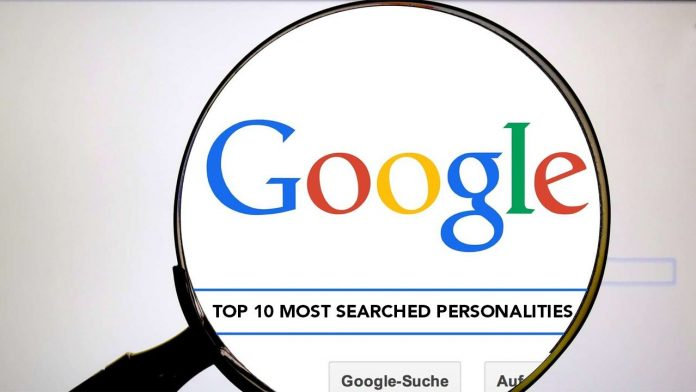 GOOGLE TOP 10 MOST SEARCHED PERSONALITIES