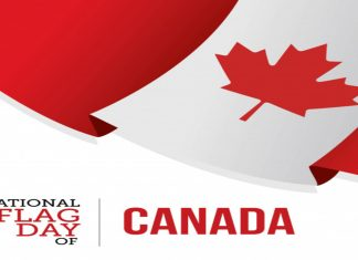 THE NATIONAL FLAG DAY OF CANADA – 15th FEB 2020