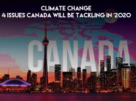 CLIMATE CHANGE ISSUES CANADA WILL BE TACKLING IN
