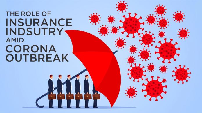 Role of insurance industry in corona outbreak