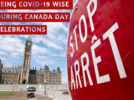CANADA DAY CELEBRATIONS BEING COVID WISE