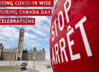 BEING COVID-19 WISE DURING CANADA DAY CELEBRATIONS