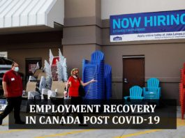 EMPLOYMENT RECOVERY IN CANADA POST COVID