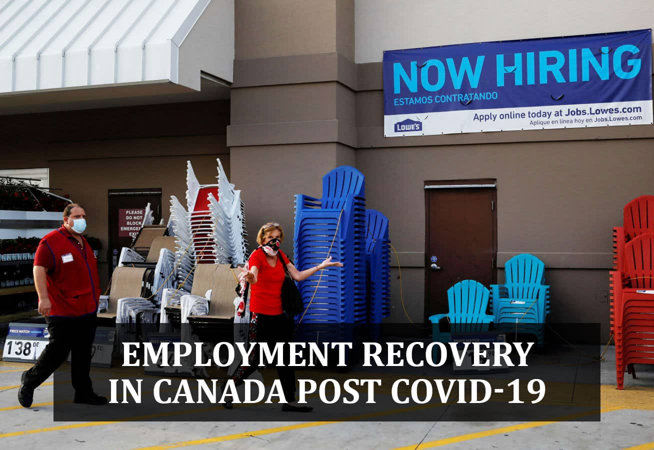 EMPLOYMENT RECOVERY IN CANADA POST COVID-19