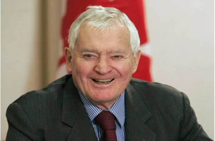 CANADIAN EX-PM JOHN TURNER DEMISE