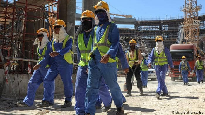 Construction industry labours