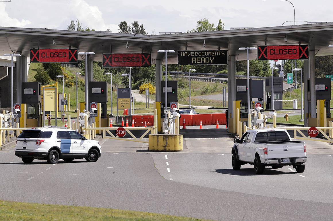 reopening us canada border