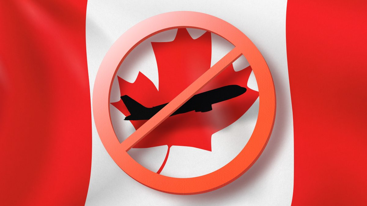 travel restrictions canada
